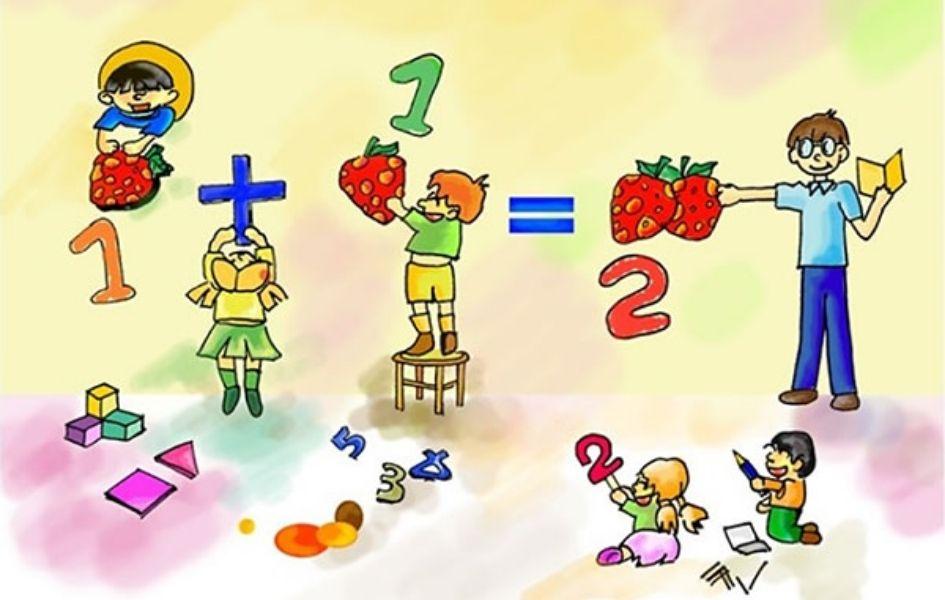 Khiến những bài toán tính nhanh lớp 1 trở thành trò đố vui cho trẻ